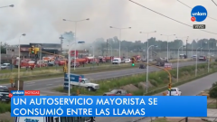 Incendio en Virrey del Pino